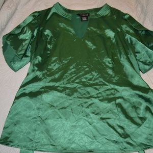 George Emerald Green Blouse Large 12/14